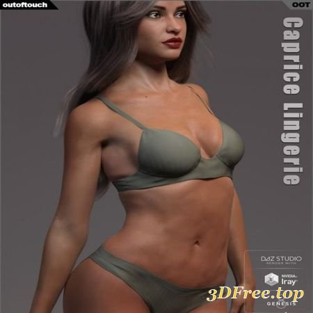 CAPRICE LINGERIE FOR GENESIS 8 FEMALE(S) (Poser)