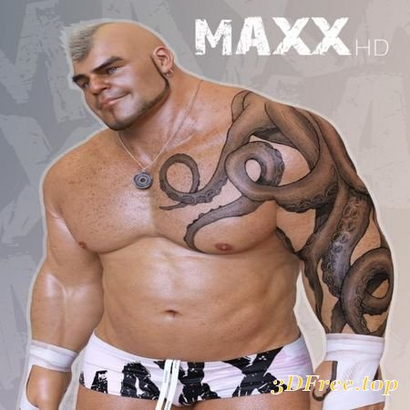 MAXX HD MEGA PACK FOR THE BRUTE 8 (Poser)