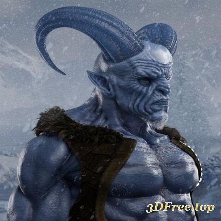 KRAMPUS HD FOR GENESIS 8 MALE (Poser)