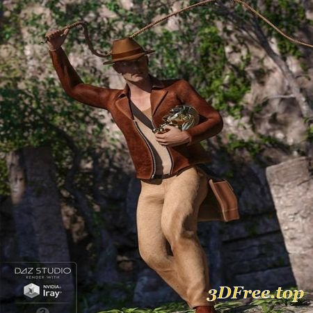 WORLDLY JONES FOR GENESIS 3 MALE(S) (Poser)