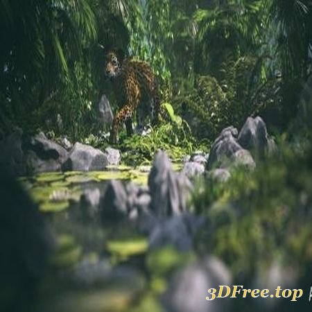 JUNGLE CONSTRUCTION KIT 02 (Poser)