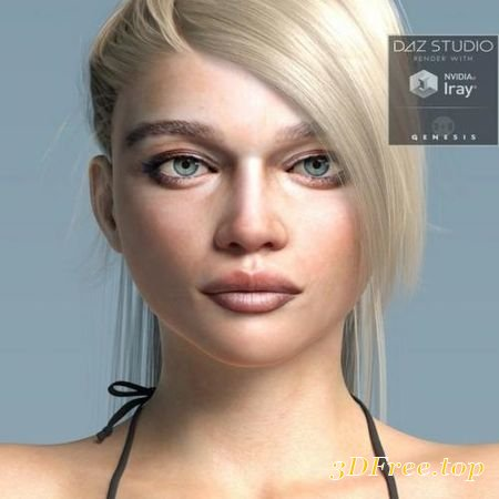 CELEBRITY SERIES 08 FOR GENESIS 3 AND GENESIS 8 FEMALE (Poser)