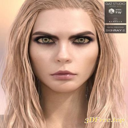 CELEBRITY SERIES 25 FOR GENESIS 3 AND GENESIS 8 FEMALE (Poser)