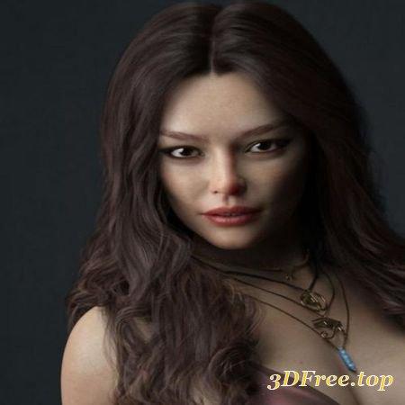 INGE HD FOR GENESIS 8 FEMALE (Poser)