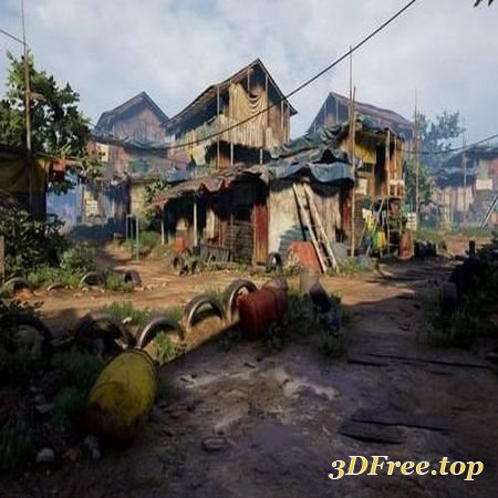UNREAL ENGINE 4 SLUMS (3DMax)