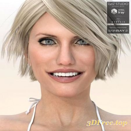 CELEBRITY SERIES 22 FOR GENESIS 3 FEMALE AND GENESIS 8 FEMALE (Poser)