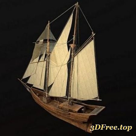 SAILING SHIP (3DMax)