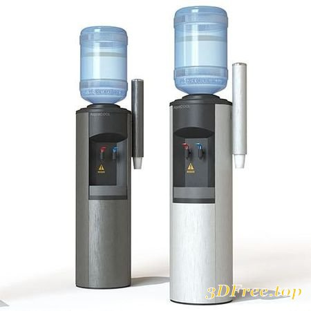 WATER COOLER DISPENSER 3D MODEL (3Dmax)