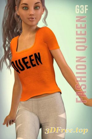 FASHION QUEEN FOR G3F (Poser)