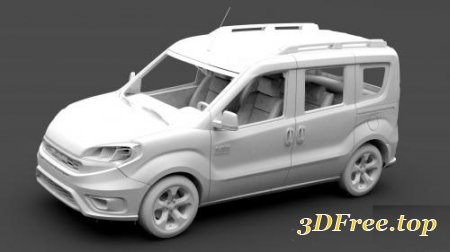 RAM PROMASTER CITY WAGON SLT L1 2019 (3DMax)