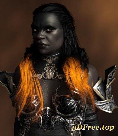 GILRUNDI FOR GENESIS 8 FEMALE (Poser)