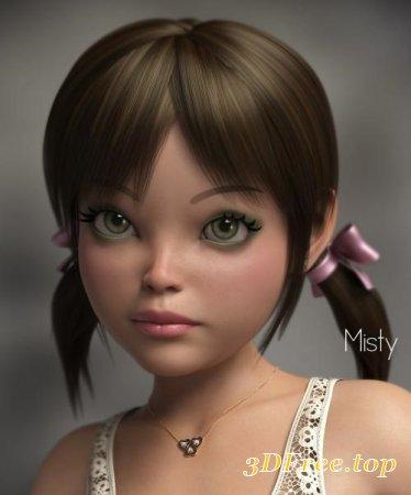 P3D MISTY HD FOR GENESIS 8 FEMALE (Poser)