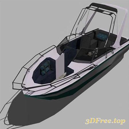 SHIP MODELS LOW-POLY 3D MODEL