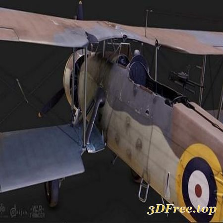 THE SWORDFISH MK I – COMBAT AIRPLANE (3DMax)