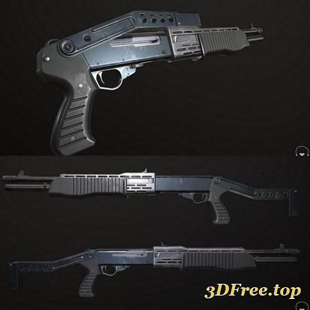 FRANCHI SPAS-12 (3DMax)