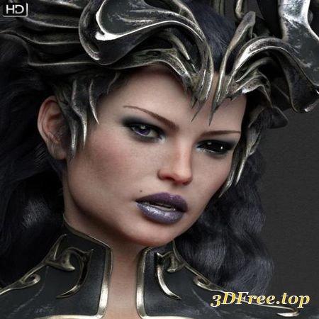 AMARIS HD FOR VICTORIA 8 (Poser)