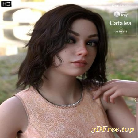 CATALEA HD FOR GENESIS 8 FEMALE (Poser)