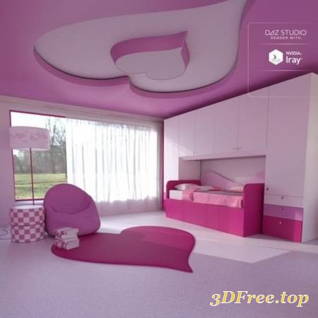 CANDY BEDROOM (Poser)
