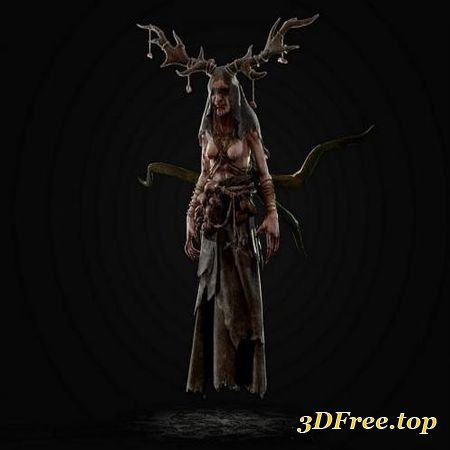 MOTHER OF THE FOREST (3DMax)