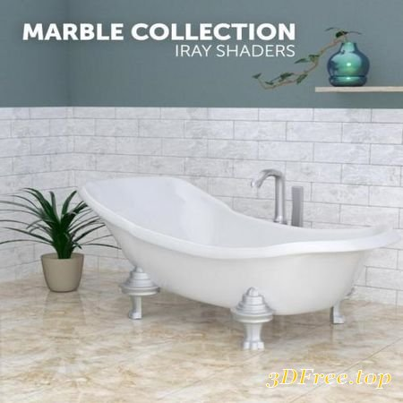 MARBLE COLLECTION - IRAY SHADERS (Poser)