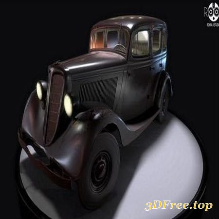 SOVIET GAZ M1 – 3D MODEL (3DMax)