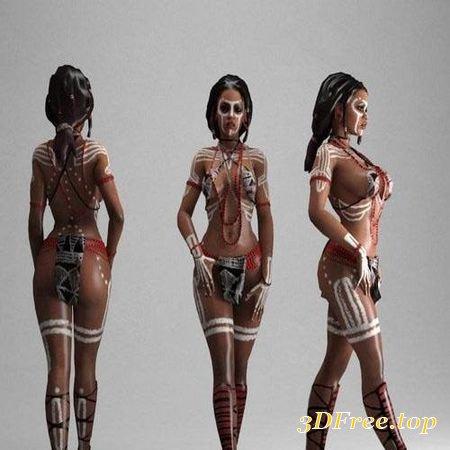 AFRICAN QUEEN – 3D MODEL (3DMax)