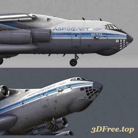 ILYUSHIN IL-76 TD – 3D MODEL (3DMax)