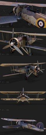 THE SWORDFISH MK I – COMBAT AIRPLANE (3DMax)