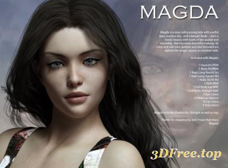 MAGDA FOR GENESIS 3 (Poser)