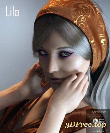 LILA FOR GENESIS 3 AND GENESIS 8 FEMALE (Poser)