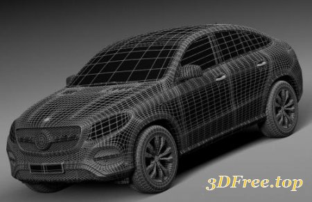 MERCEDES-BENZ GLE COUPE 2016 (3DMax)