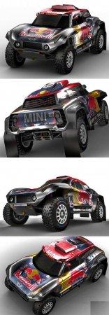 MINI BUGGY X-RAID DAKAR RALLY 2018 (3DMax)