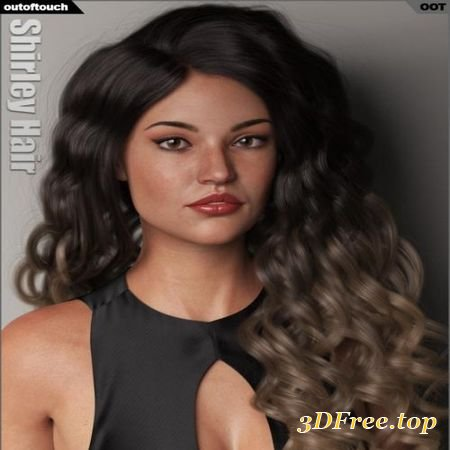 SHIRLEY HAIR FOR GENESIS 3 AND 8 FEMALE(S) (Poser)