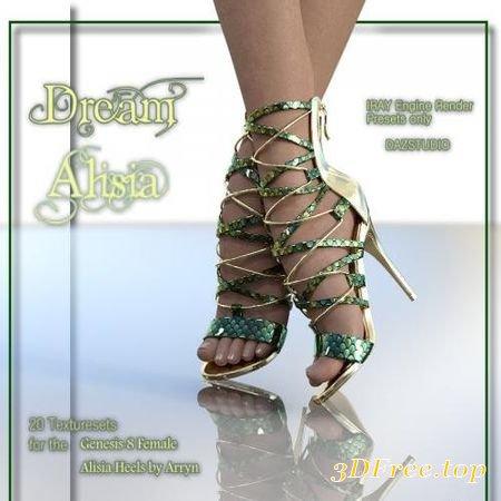 ALISIA-DREAMS - GENESIS 8 FEMALE (Poser)