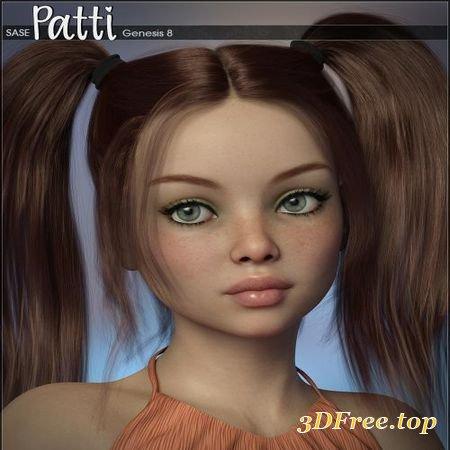 SASE PATTI FOR GENESIS 8 (Poser)