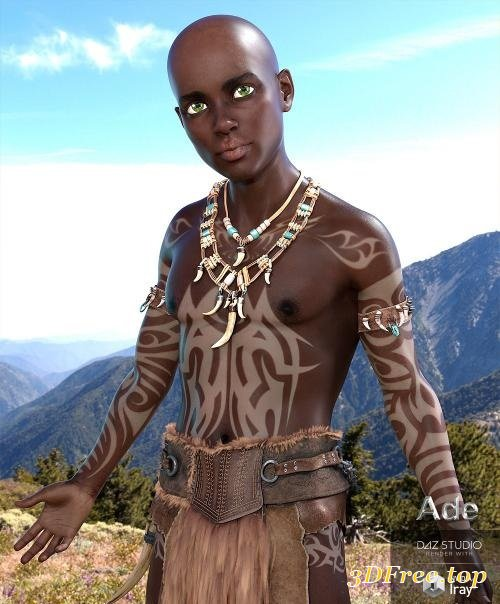 3D Models ADE FOR GENESIS 8 MALE (Poser) download free
