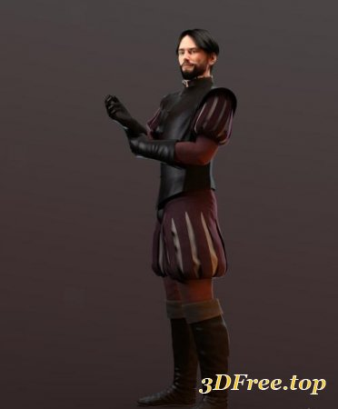 CONQUISTADOR OUTFIT AND ARMOR FOR GENESIS 3 MALE (Poser)