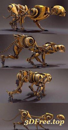 ROBOTIC CHEETAH (3DMax)