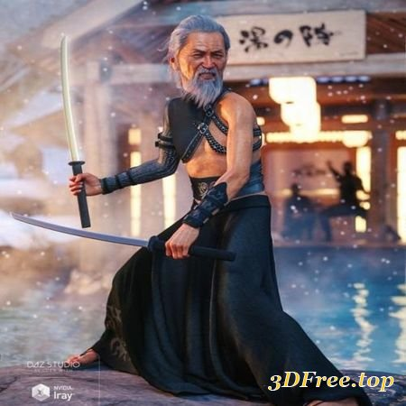 3D Models DFORCE TRADITIONAL OUTFIT FOR GENESIS 8 MALE(S