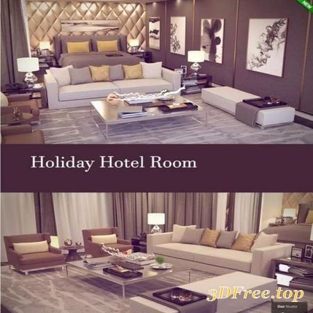 HOLIDAY HOTEL ROOM (Poser)