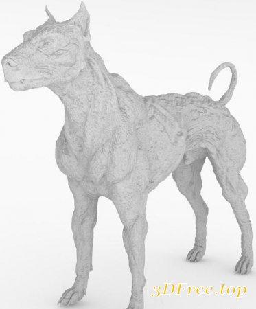UNDEAD FOR DAZ DOG 8 (Poser)