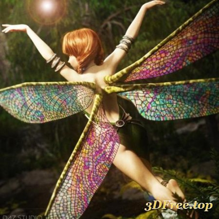 NATURAL FAE WINGS FOR GENESIS 8