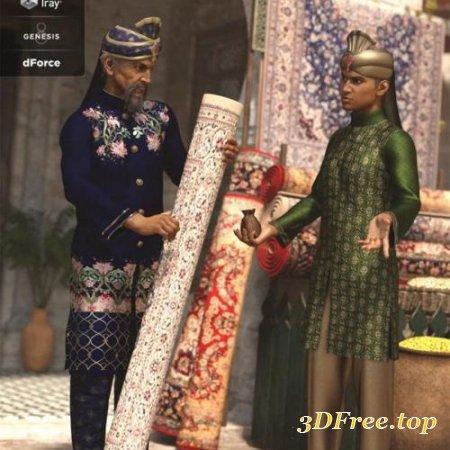 dForce Bollywood Groom Textures