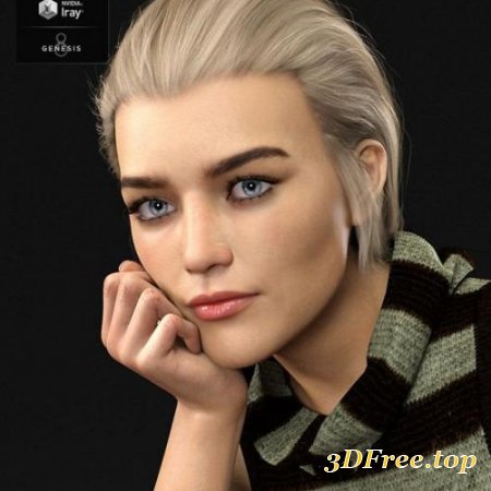 Madison HD for Genesis 8 Female
