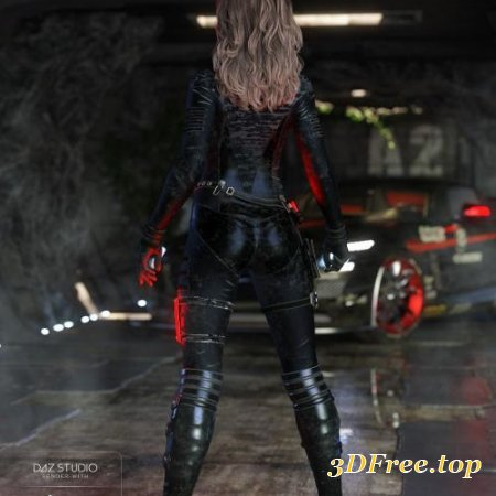 Stealth Siren Outfit for Genesis 8 Female(s)