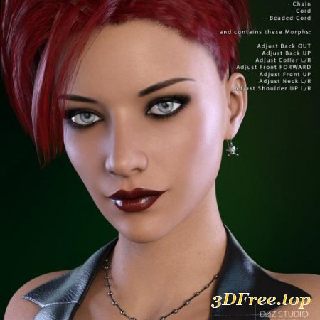 SKULLDUGGERY JEWELRY FOR GENESIS 3 FEMALE(S)