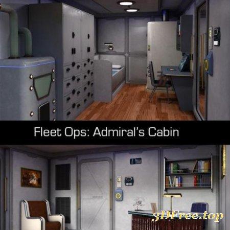 FLEET OPS ADMIRALS CABIN