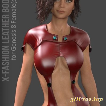 X-FASHION LEATHERS BODYSUIT FOR G8F