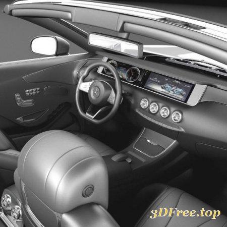 MERCEDES-BENZ S63 AMG CABRIOLET 2017