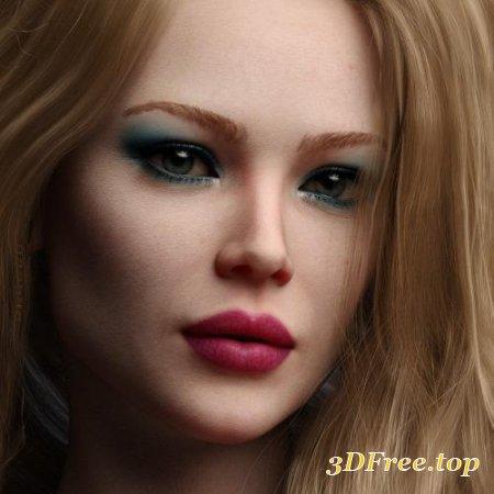 SASHA HD FOR GENESIS 8 FEMALE
